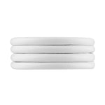 Leder Armband Damen Double,  - Rebeligion True Silver-Offizieller Shop