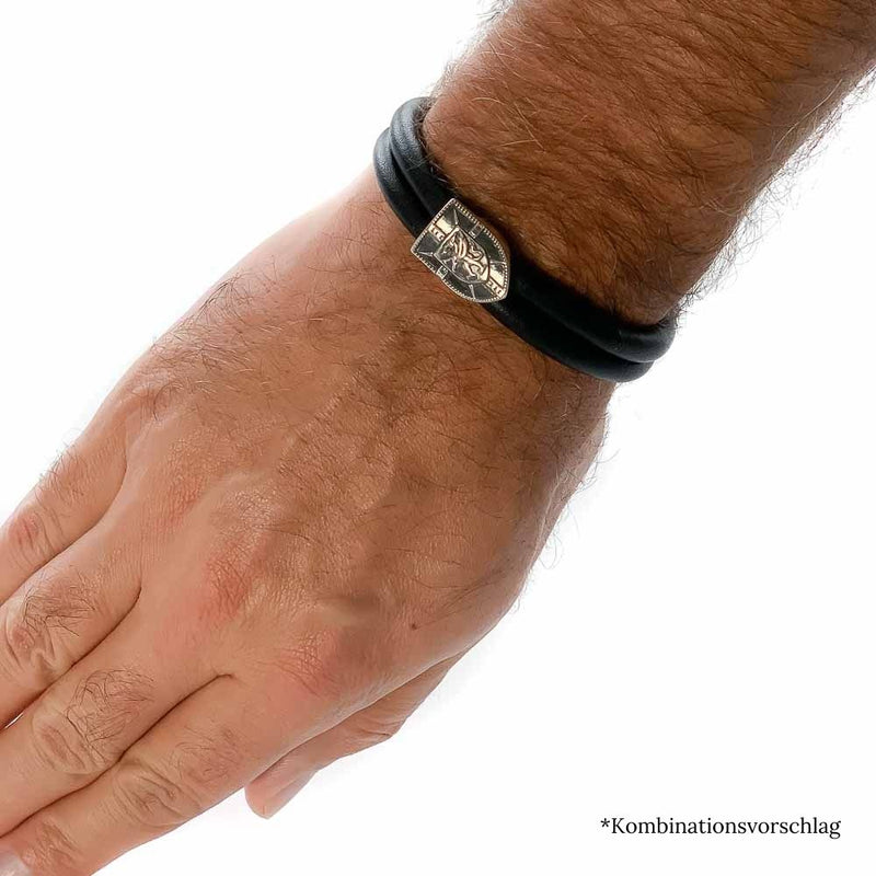 Wappen_Greif_Herren_Armband_15-00987-71-001_REBELIGION_fertiges_Band