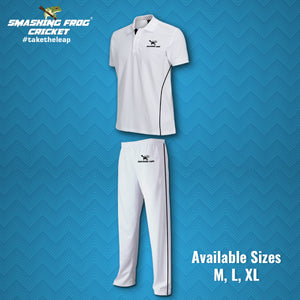SFC Cricket Shirt and Pant Full Set (White)