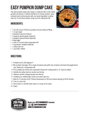 A thumbnail image of the downloadable recipe card for pumpkin dump cake.
