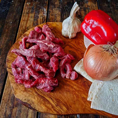 Beef for Fajitas (aka Julienne Beef)