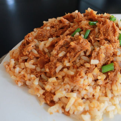 Sweet Pulled Pork & Rice