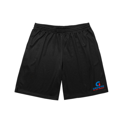 Growth By Any Means Shorts (Black)