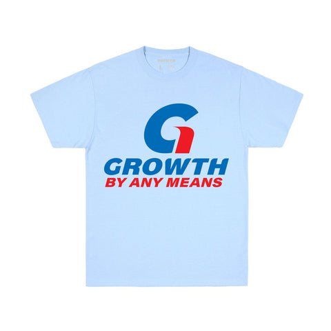 Growth By Any Means T-Shirt (Carolina Blue)