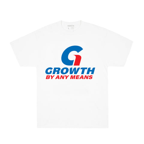 Growth By Any Means T-Shirt (White)