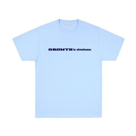 Growth Streetwear T-shirt (Carolina Blue)