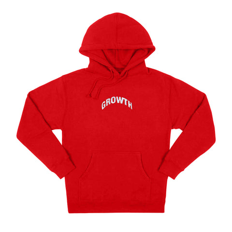 Growth Logo Hoodie (Red)