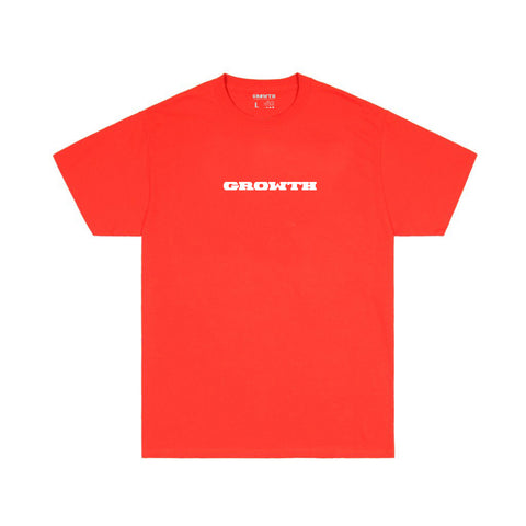 Growth Logo T-shirt (Red)