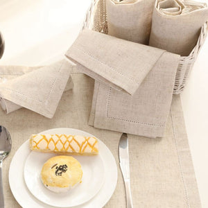 The Classic Linen Napkin  - 12 count