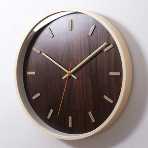 Delaney  Wooden Clock