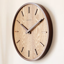 Load image into Gallery viewer, Delaney  Wooden Clock