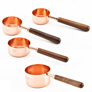Copper Measuring Tools Set