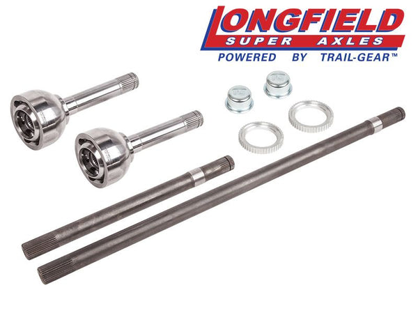 Longfield FJ80 30 Spline Birfield/Axle Super Set, Gun Drilled