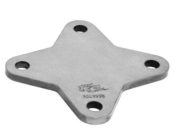 BASE PLATE,ROLL CAGE,4 BOLT