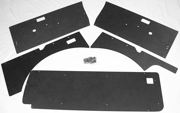 ABS Interior Panels For Samurai, Complete Kit