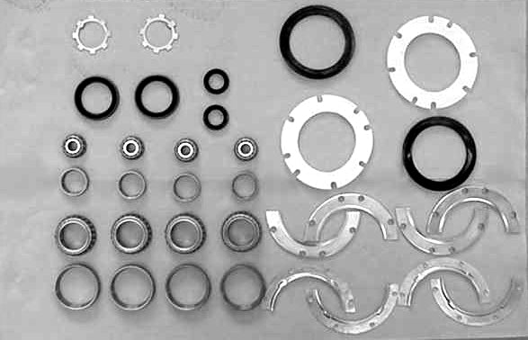 Front End Rebuild Kit Major