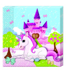 Serviettes Licorne par 20 - ART DE LA TABLE - Prosalis
