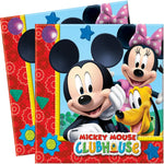 Serviettes Mickey - 33x33cm par 20 - ART DE LA TABLE - Prosalis