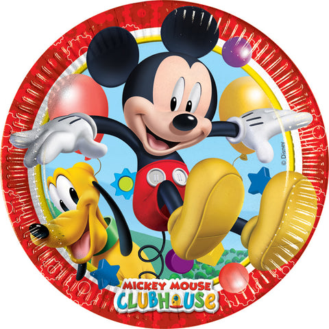 8 assiettes jetables Mickey - Ø23cm - ART DE LA TABLE - Prosalis