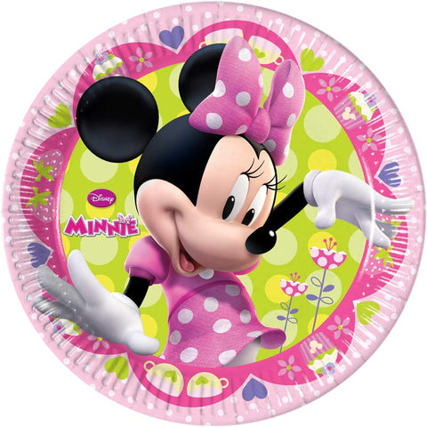 8 assiettes jetables Minnie - Ø23cm - ART DE LA TABLE - Prosalis
