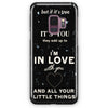 1D Little Things Lyrics Samsung Galaxy S9 Plus Case | Casescraft