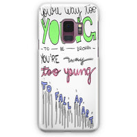 3Oh!3   I M Not The One Lyric Cover Samsung Galaxy S9 Plus Case | Casescraft
