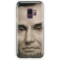 Abraham Lincoln Red Eyes Samsung Galaxy S9 Plus Case | Casescraft