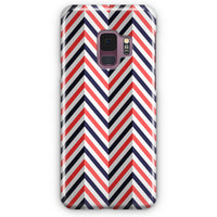 Abstract Chevron Pattern Samsung Galaxy S9 Plus Case | Casescraft