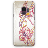 Abstract Floral Pattern Samsung Galaxy S9 Case | Casescraft