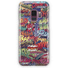 Action Packed Pow Comic Stickerbomb Samsung Galaxy S9 Plus Case | Casescraft