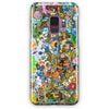 Adventure Time Paint Rain Samsung Galaxy S9 Plus Case | Casescraft