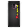 Akrapovic Exhaust System Carbon Logo Samsung Galaxy S9 Plus Case | Casescraft