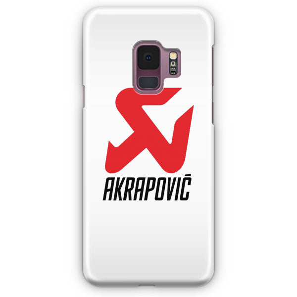 Akrapovic Exhaust System Carbon Technology Logo Samsung Galaxy S9 Plus Case | Casescraft