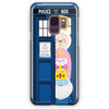 All Character Adventure Time In Tardis Dr Who Samsung Galaxy S9 Plus Case | Casescraft