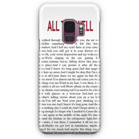 All Too Well Lyric Cover Samsung Galaxy S9 Case | Casescraft