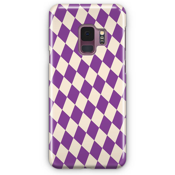 Antique White And Vivid Violet Samsung Galaxy S9 Plus Case | Casescraft