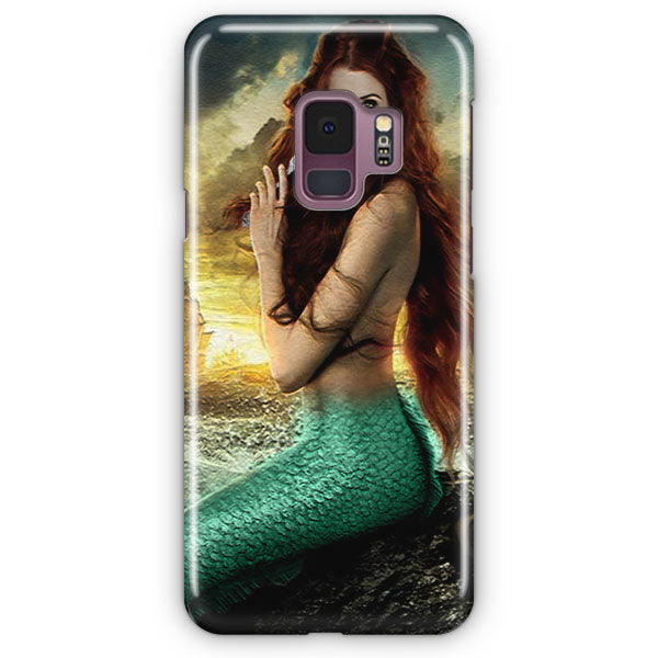 Ariel Mermaid Tardis Samsung Galaxy S9 Plus Case | Casescraft