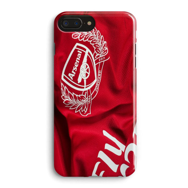 new style cb0e4 0a6a5 Arsenal Home Shirt Mesut Ozil iPhone 8 Plus Case | Casescraft