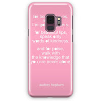Audrey Hepburn Breakfast At Tiffany Samsung Galaxy S9 Plus Case | Casescraft