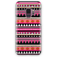 Aztec Patterns Love The Colors Samsung Galaxy S9 Plus Case | Casescraft