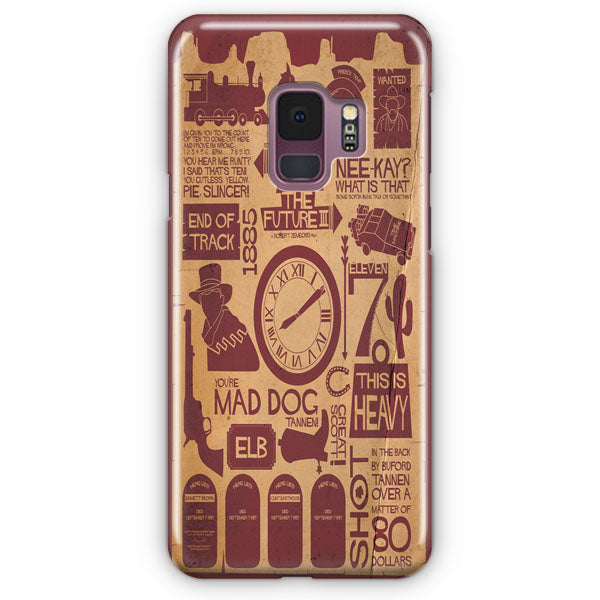 Back To The Future Items Samsung Galaxy S9 Plus Case | Casescraft