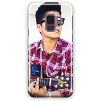 Bruno Mars Playing Guitar Samsung Galaxy S9 Case | Casescraft