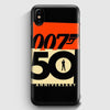 007 50 Anniversary iPhone XS Case | Casescraft