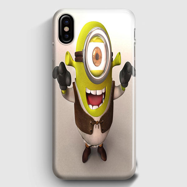 Funny Minion Wallpaper Shrek Iphone Xs Max Case Casescraft