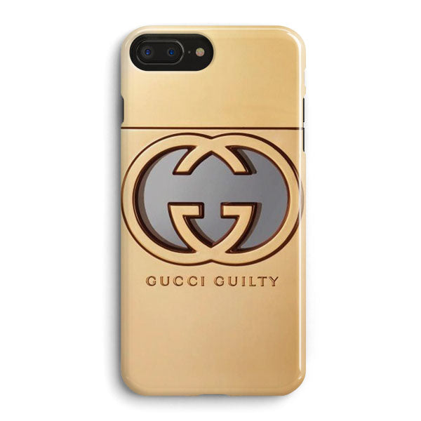 separation shoes f3810 808af Gold Gucci iPhone 8 Plus Case | Casescraft