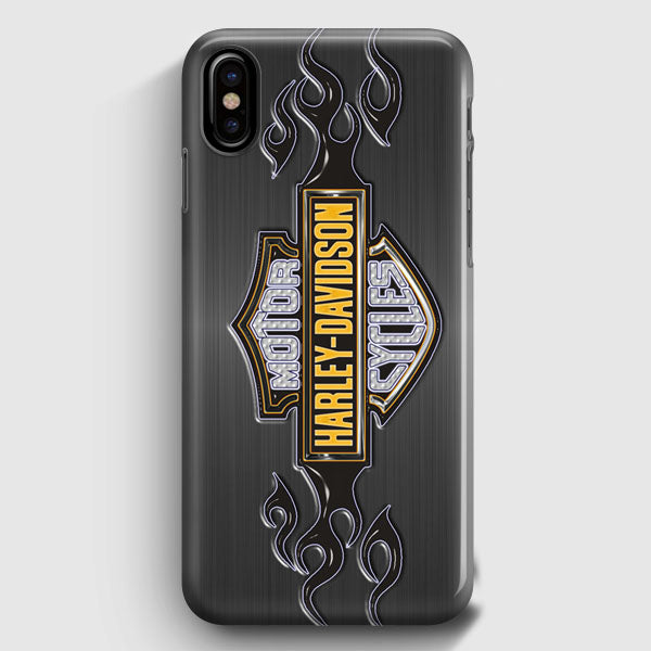 outlet store faad3 162eb Harley Davidson Logo iPhone X Case   Casescraft