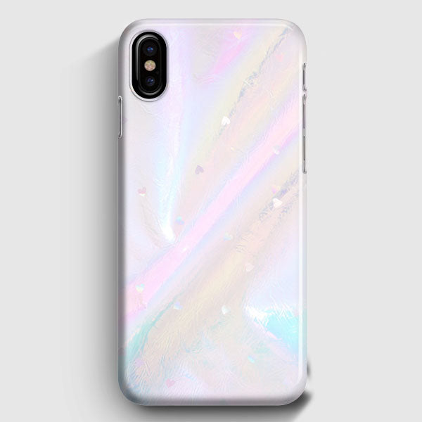new product cf328 f1e8a Iridescent Holographic Wallpaper iPhone XS Max Case | Casescraft