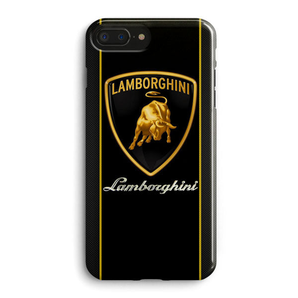on sale 7baf3 c7eab Lamborghini Logo iPhone 7 Plus Case | Casescraft