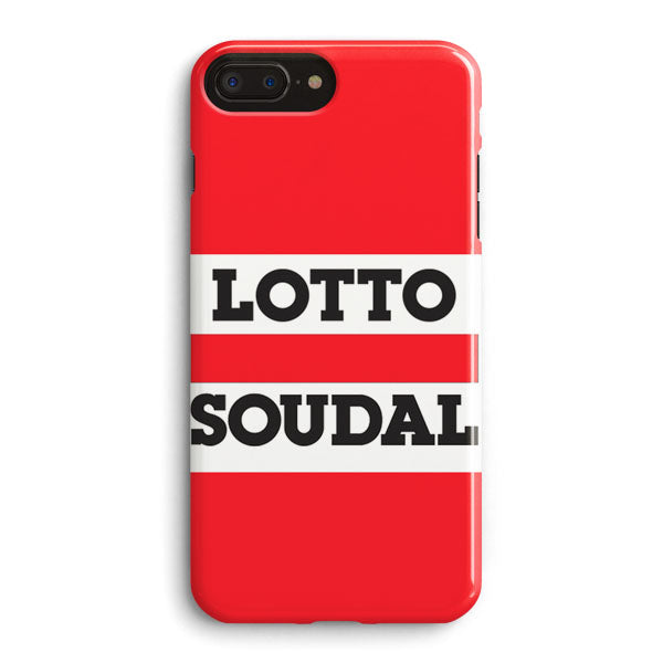 finest selection 407e6 77cc7 Lotto Soudal Team Cycle Bike Uci iPhone 8 Plus Case | Casescraft