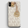 Michael Kors Mk Bag Texture Print iPhone X Case | Casescraft
